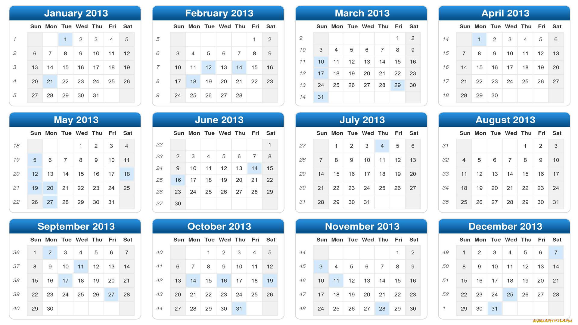 Заставки На Рабочий Стол Календари